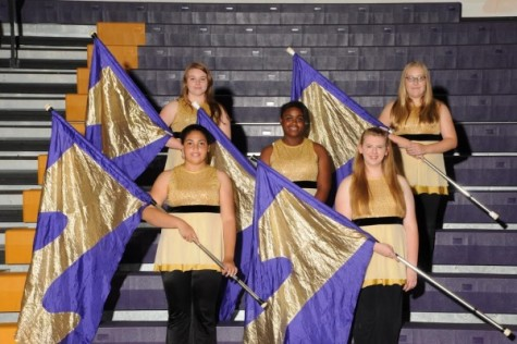 2014-2015 Color Guard Team Announced