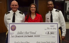 Ms. Thomas and Psychology Students Reach Goal for Soldier's Best Friend