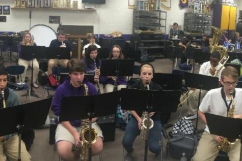Central Band Members Jazz Up The School Year