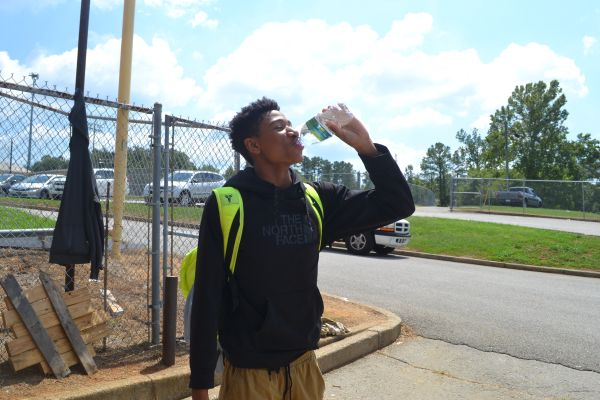 With Extreme Heat, Coaches and Players Say Staying Hydrated a Priority