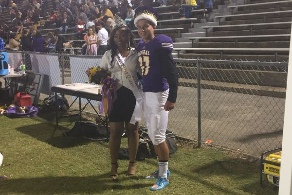 2016 Central High Homecoming Royalty Crowned at Football Game