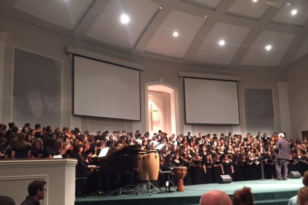 Central's Choir One of Eight to Perform at Hamilton County Choral Festival