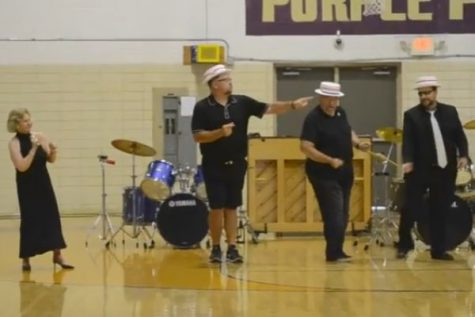 Central High Faculty Preform in Annual Teacher Talent Show