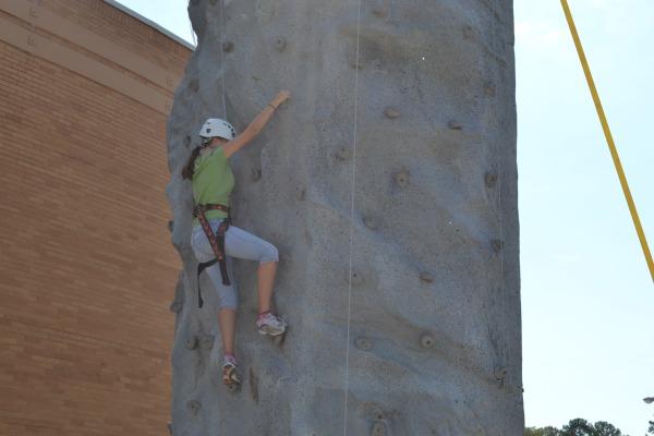 Jrotc Rock wall