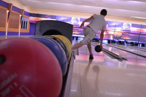 Tanner Robinson at bowling