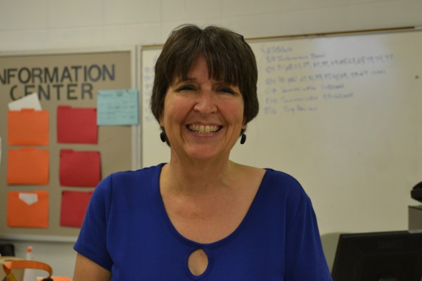 PEGGY MOYER -- Mrs. Moyer is Central's new AP Calculus and Algebra II teacher