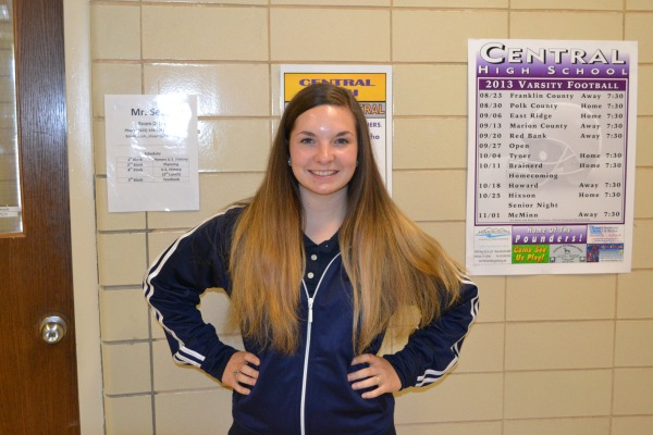 YEAR BOOK EDITOR ANNOUNCED -- Hannah Miller is now this years Head Editor