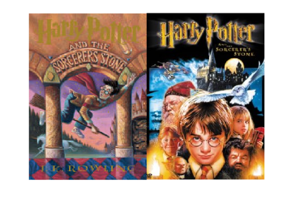 ADAPTATIONS OF BOOKS -- A successful transfer of a book to a movie.
