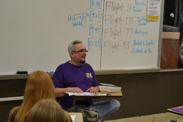 SEPOD CHANGES -- Mr. John Daum will be one of three senior English teachers to oversee the completion of SEPODs this year.