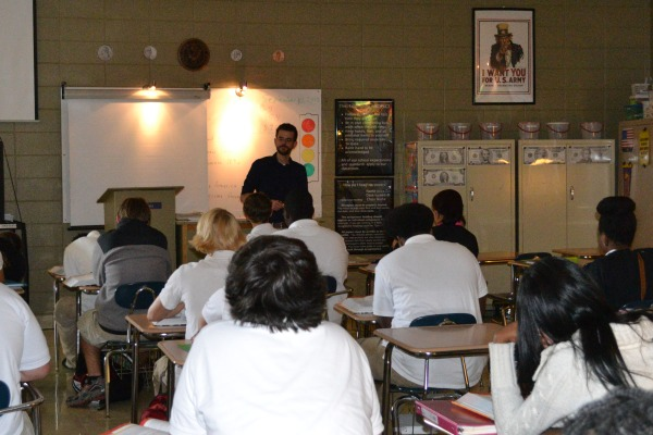 MISSING AP CLASSES -- Shawn Seals once was a AP U.S. History now a regular History teacher.
