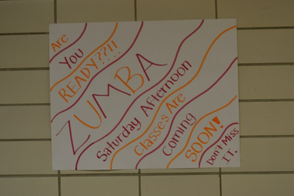 ZUMBO -- Junior Class officers are putting on a zumba class on the weekends
