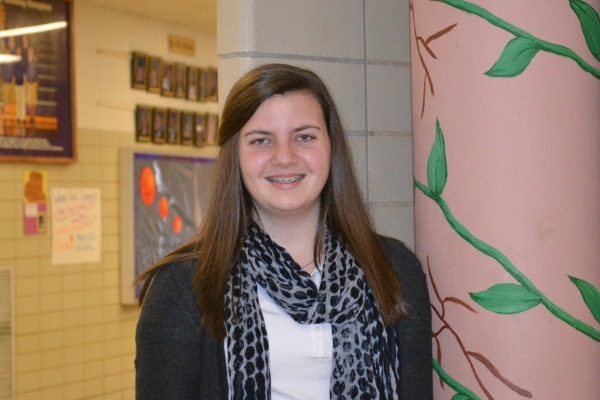EDITOR -- Allie Nedeau is the first Sophomore Manaing Editor of the Central Digest