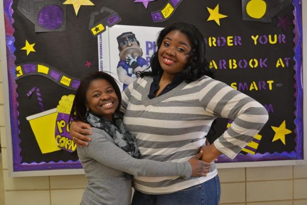FRIENDS FOREVER -- Raven Goodwin and Devora Harris have been best friends since elementary school.