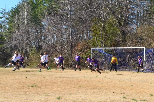 RUN UP THE SCORE-- Central defeats Bledsoe County 8-0.