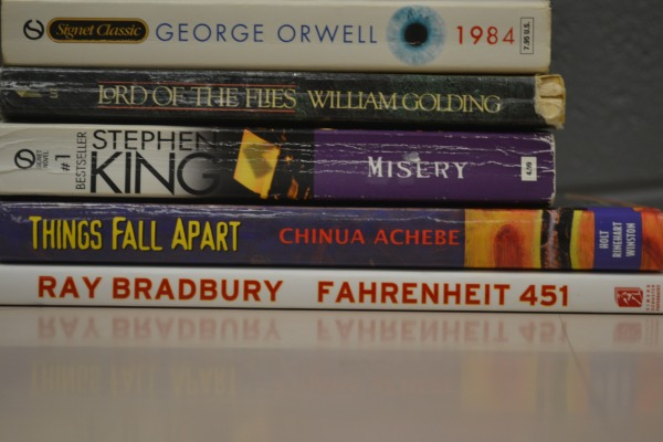 STACKS OF CLASSICS -- Several summer reading books are all-time favorites.