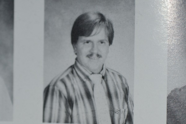 BACK IN THE DAY -- Newly elected District 9 Representative Steve Highlander was a science and math teacher at Central way back when.