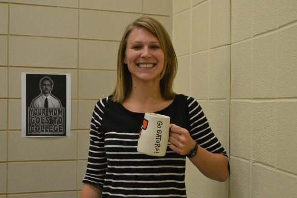 NEW ADDITION TO CENTRAL -- Welcome Ms. Burnette, Central High School's new college advisor!