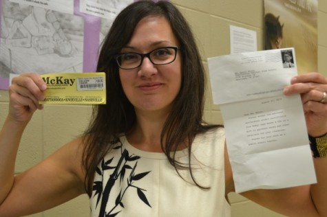 English Teacher Receives $800.00 Mystery Donation