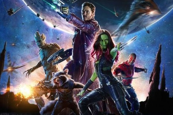 A DESTRUCTIVE FORCE FOR GOOD -- The team of powerful guardians fights to save the galaxy.