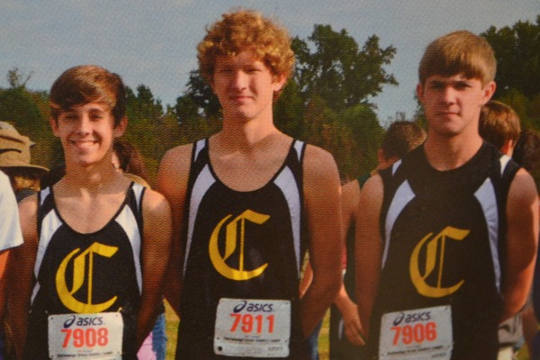 CENTRAL SQUAD -- (From left to right) Matthew Miller, Andrew Wagner, and Chase France.