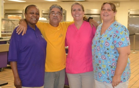 Ruriteen Club Appreciates Central's Lunch Ladies and Janitorial Staff