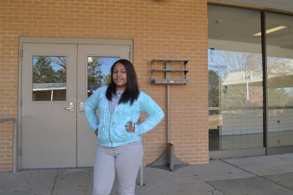 MATH FEVER -- Kiarah Maffet finished Bridge Math a week before Fall Break.