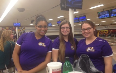 GIRL POWER -- D'Narrien Keith, Jordan Key. and Katie Chambers have become good friends through their common love of bowling.