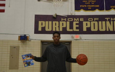 BASKETBALL AND BOOKS --  Ryan Montgomery plans to excel in the classroom and on the court.