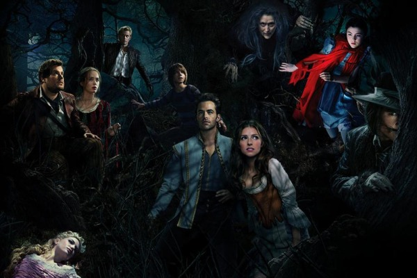 INTO THE WOODS -- Famous fairy tale characters and celebrities come together in one movie.
