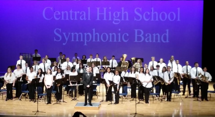 FESTIVAL+COMPETITION+--+The+Central+High+School+Symphonic+Band+receives+superior+rating+at+the+Festival+Band+Competition.
