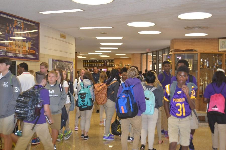 CLASS CHANGE -- So far, the students and faculty at Central High have had a smooth start to the 2015-16 school year.