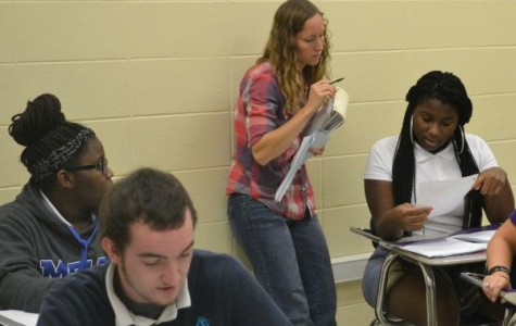 Algebra Is One of New Math Teacher Mrs. Mielke's Favorite Subjects