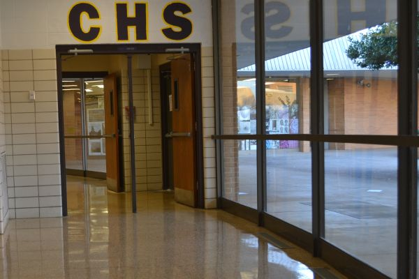 CENTRAL'S EMPTY HALLS ARE REACHING FOR MORE FUNDING -- While students are in class, these high school hallways are just begging for some much needed funding.