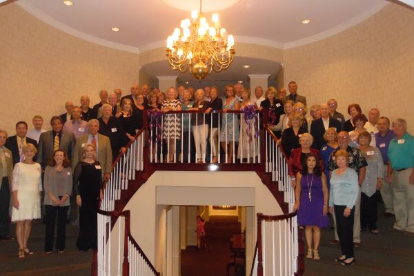 50TH REUNION -- Class of '65 comes together at the Chattanooga Golf and Country Club.