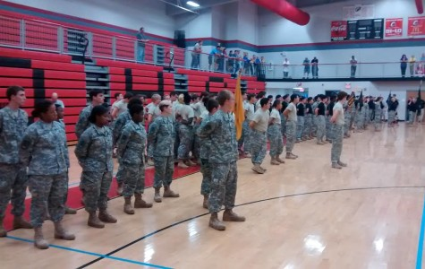 Raiders Are a New Addition to Central's First For Freedom JROTC Batallion
