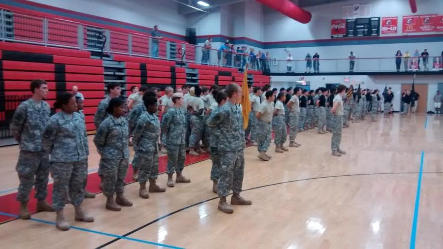 JROTC+RAIDER+TEAM+--+the+Raider+Team+prepares+for+upcoming+competitions+in+the+season