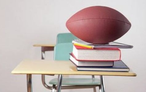 JUGGLING ACADEMICS AND SPORTS -- Balancing academics and sports is no easy task, but CHS students can do it with ease!
