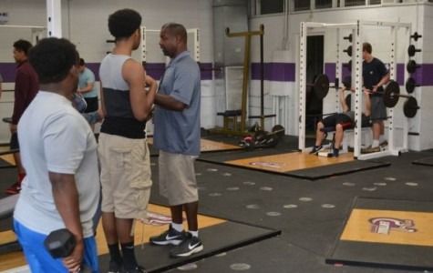 Central Athletes Make the Most of Weight Room and Off Season