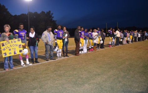 Senior Night: 2015 Football Season Comes to a Close