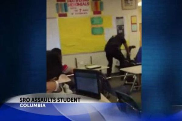 STUDENT ARREST STARTS CONTROVERSY  -- A violent SRO arrest at Spring Valley High School starts major controversy about SRO discipline.