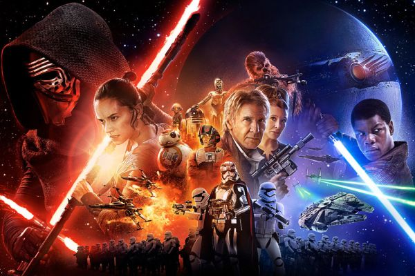 THE FORCE AWAKENS THEATERS ACROSS THE WORLD -- Star Wars: