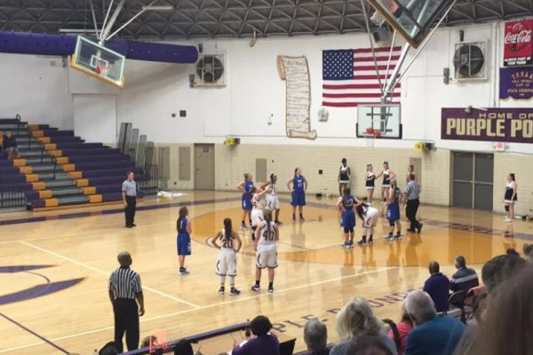 CENTRAL SUFFERS DEFEAT AGAINST GPS -- Even though they lost, the girls' basketball finished their season strong.