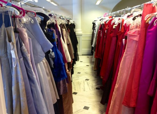 PROM DRESS GIVEAWAY --- Dallas Bay Baptist Church is providing girls with choices of over 500 prom dresses.