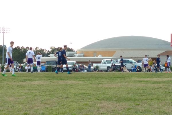 CENTRAL TAKES THE FIELD AGAINST SODDY DAISY-- Central's Boys' soccer team plays their first game against Soddy on Thursday.