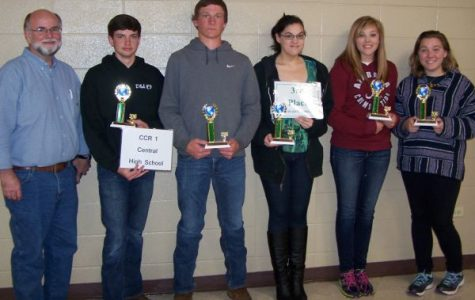 "Central Gets Third Place in the ""Envirothon"""