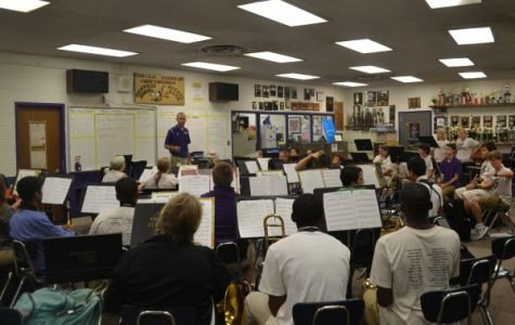 New Jazz Band Class Boasts of Over 30 Students