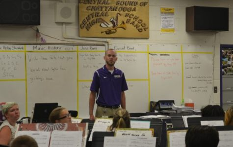 Band Director Joshua Bloodworth Wins Educator of the Week