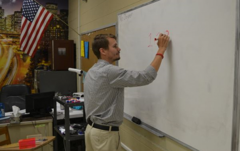 JOYNER ADDED TO PURPLE POUNDER FAMILY -- Matt Joyner is excited to be teaching geometry at Central