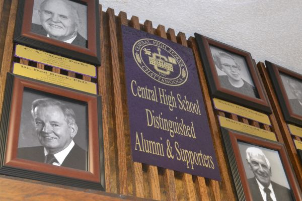 CENTRAL HIGH ALUMNI SHOWN THROUGH THE HALLS -- Central Alumni remains prevalent around students' normal school day for their contributions to their school.