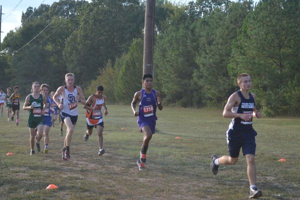 DOMINGEZ PLACES 20TH OUT OF 181 STUDENTS -- The Central Cross Country team sets goals for upcoming meets and for Region.